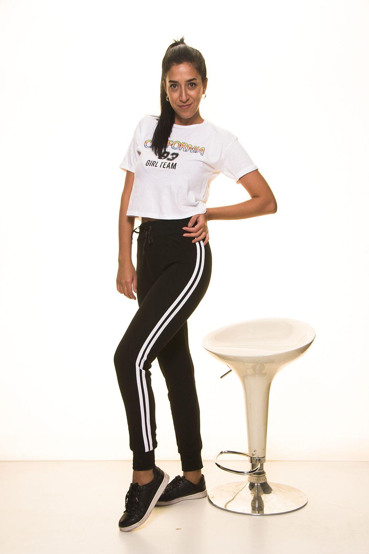 Siyah Bayan Eşofman Altı 5E-2025