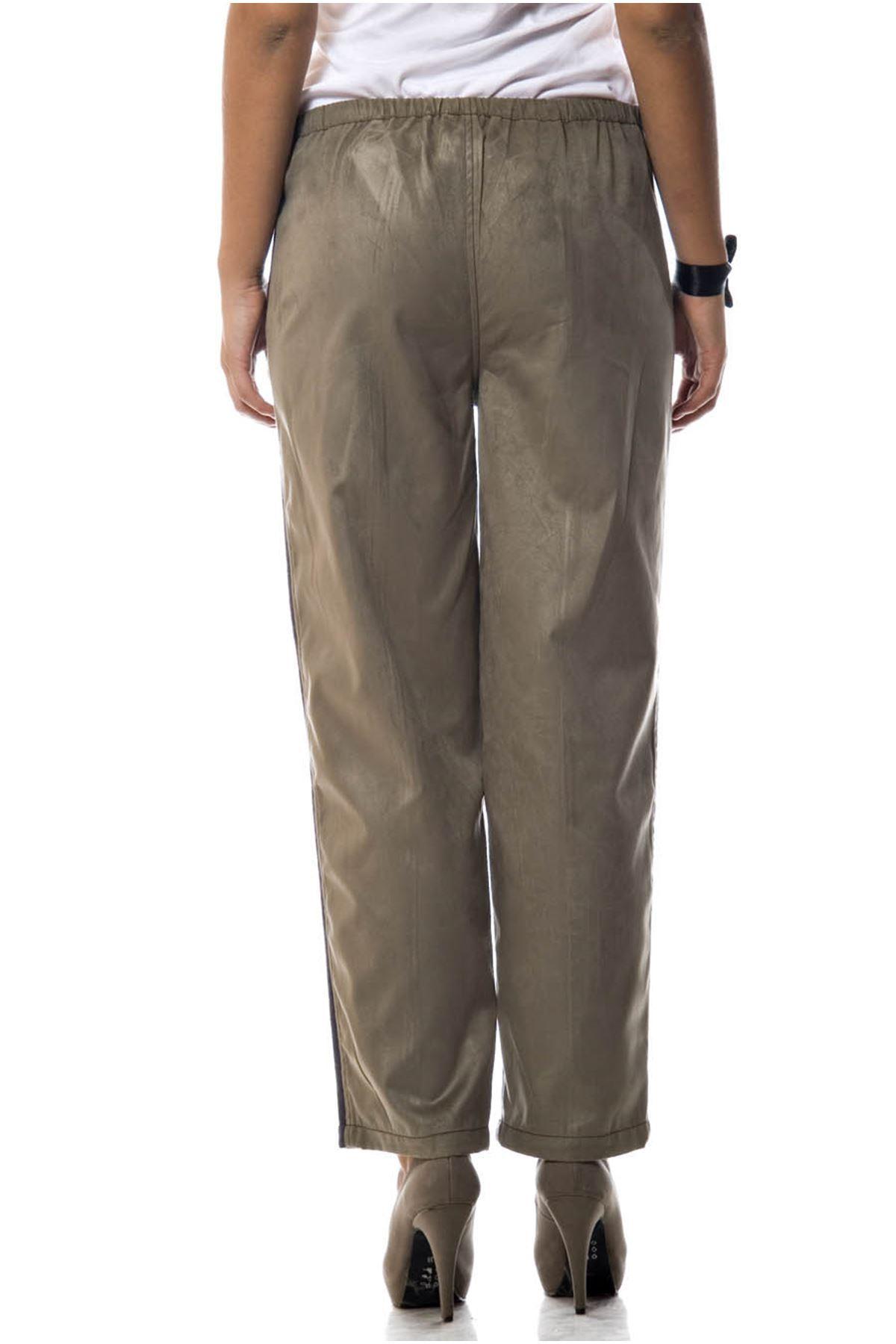 Şeritli Çift Renk Pantolon 1A-52676