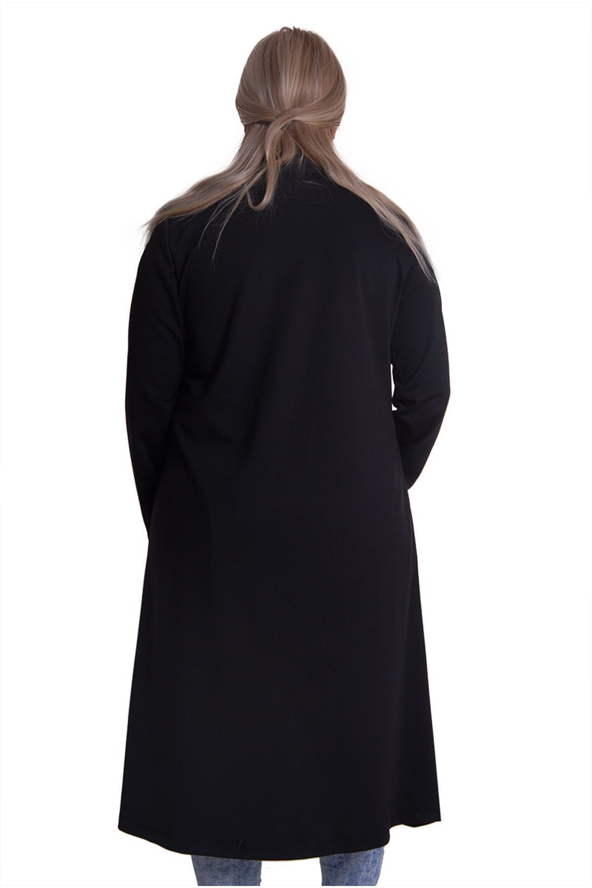 Siyah Fermuarlı H3-0810