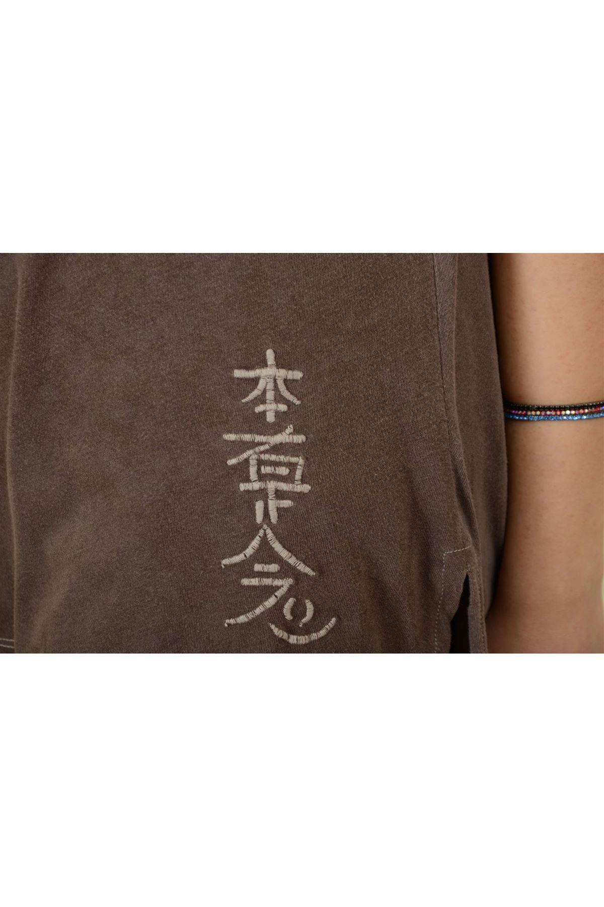 Sedef - Pileli Kısa Kollu Tshirt K1006