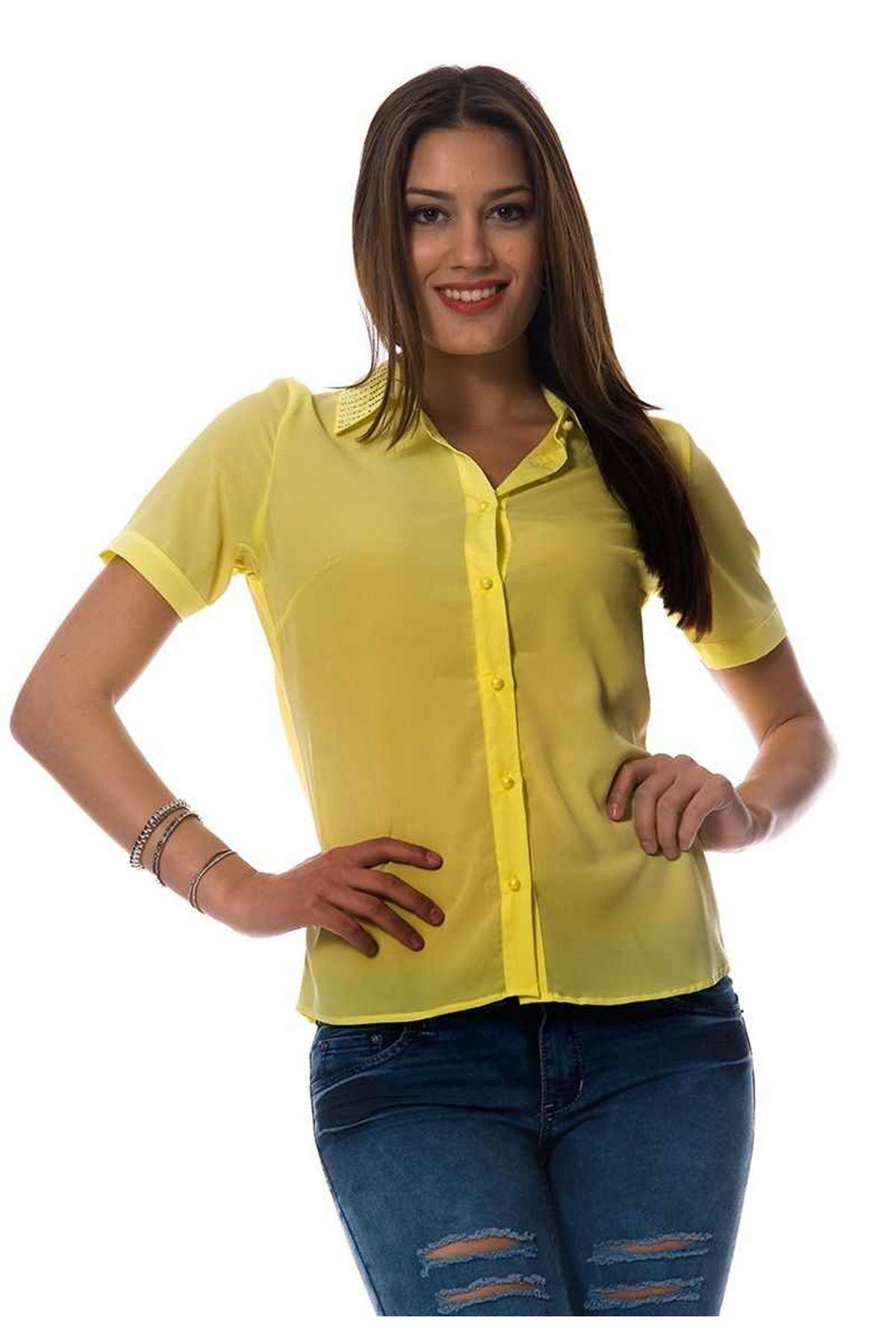 Sarı Yakası Pullu G5-94222