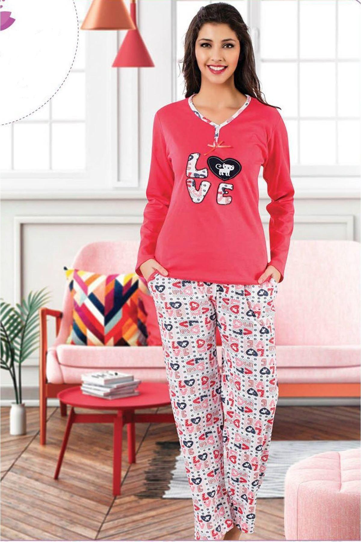Love Pijama Takım 8B 1021