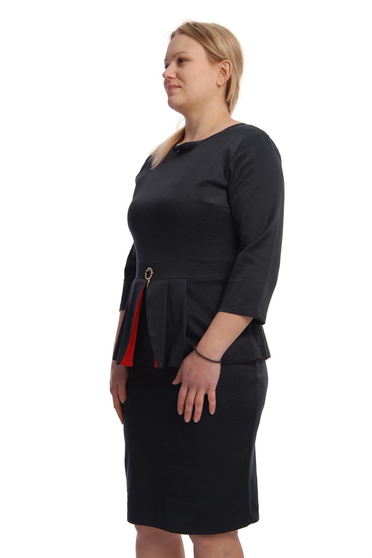 Lacivert Elbise H12-65977