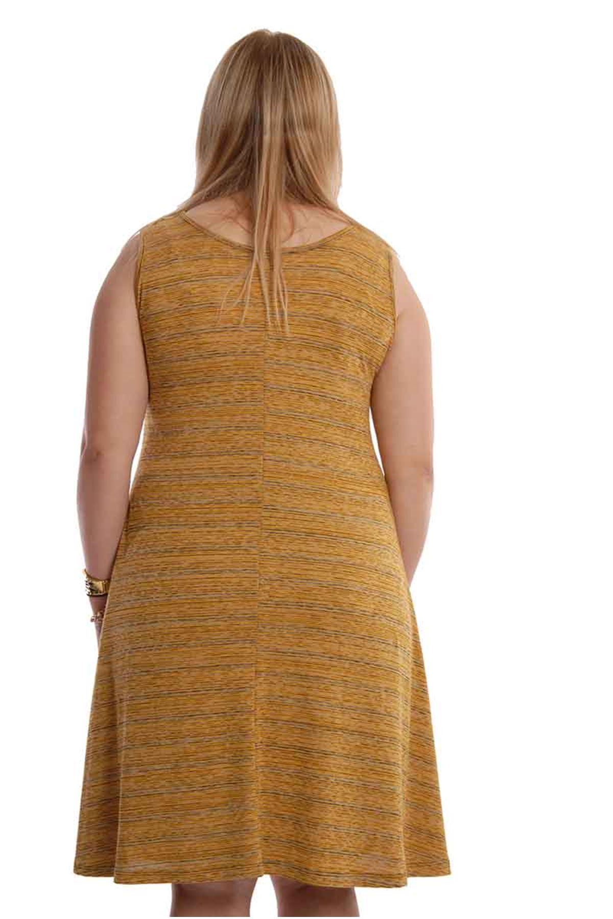 Hardal Kolsuz Elbise 21A-68057