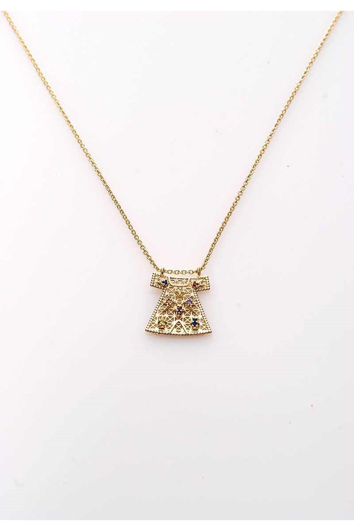 Gold Kolye 10Ç-108075
