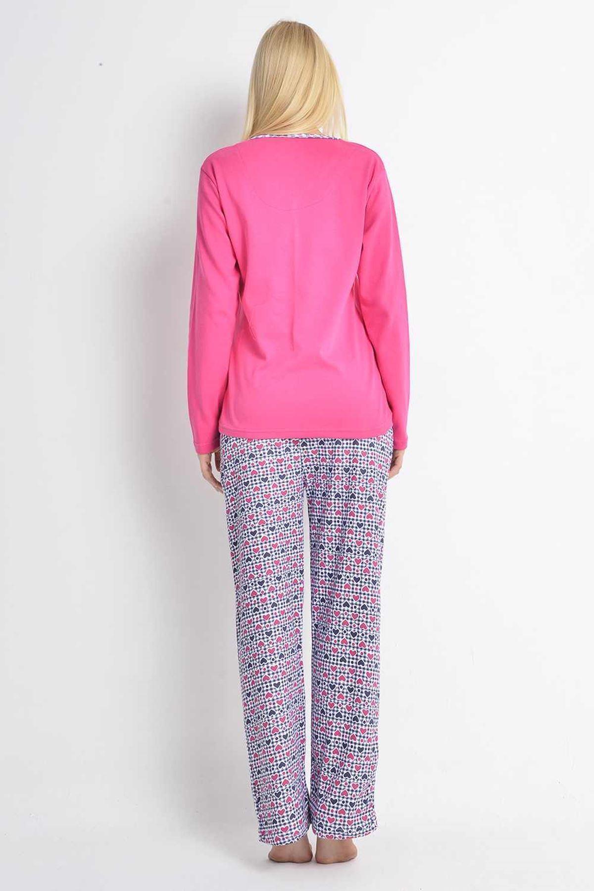 Fuşya Pijama 15C-100173