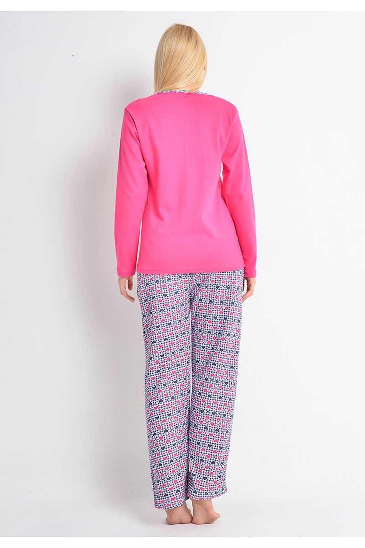 Fuşya Pijama 14B-8323